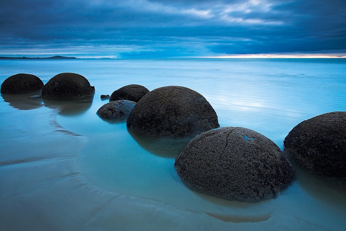0021 Moeraki Boulders, South Island, New Zealand